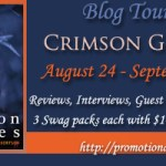 Crimson Groves Book Tour: Enter to Win One of 3 Swag Packs with $10 Amazon GC