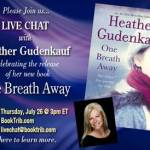 One Breath Away Book Tour: Guest Post + Giveaway