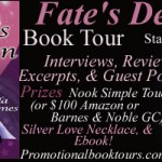 Fate's Design Book Tour: Win a Nook or $100 Amazon or BN GC!