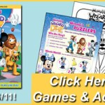 Mickey Mouse Clubhouse: Minnie's The Wizard Of Dizz Activity Sheets and Clips
