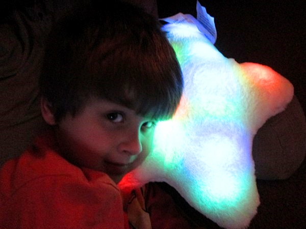 Bright Light Pillow Gift for Kids