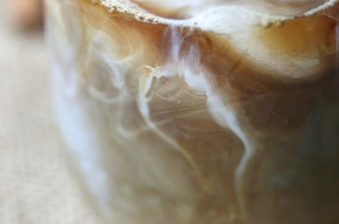 Iced Dirty Chai Espresso