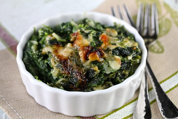 Spinach Gratin – Karen's Kitchen Stories
