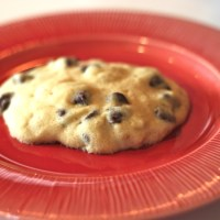 One Minute/One Cookie: How to Make a Single Microwave Chocolate Chip Cookie in A Minute