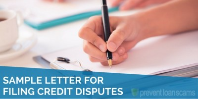 Sample Letter for Filing Credit Disputes | 2019 Updated Template