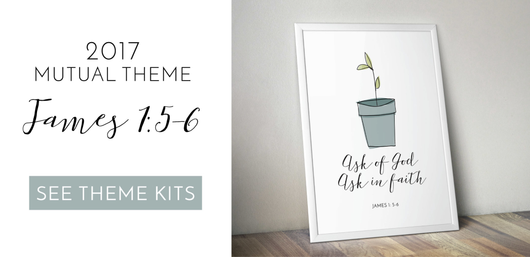 2017 Young Women Mutual Theme | Simple Sprout | LDS Printables & Posters | Prickly Pear Design Co.