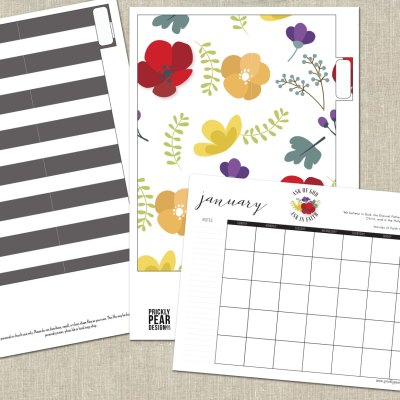 Get Organized and Start Planning for Young Women 2017 – Presidency Binder Kits Available in the Shop
