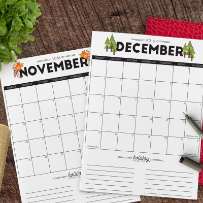 5 Tips for a Stress Free Holiday & FREE 2016 Holiday Planner Printable
