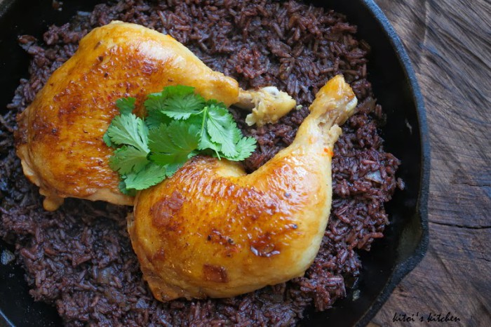 Paleo Chicken Blood Rice