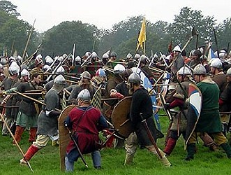What happened at the Battle of Hastings  Fighting