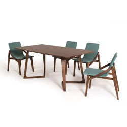 Small Crop Of Walnut Dining Table
