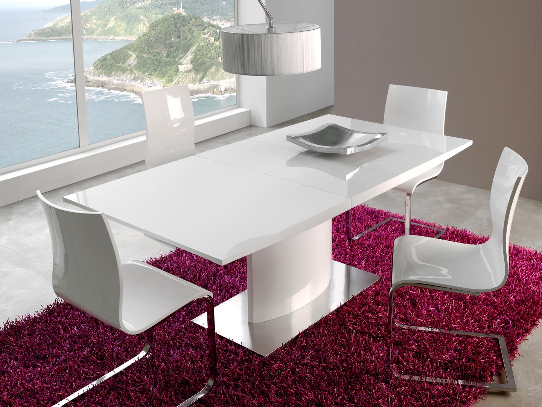 white kitchen table modern modern kitchen table Dining Table White White Dining Room Furniture Modern Design The Modern white dining room sets