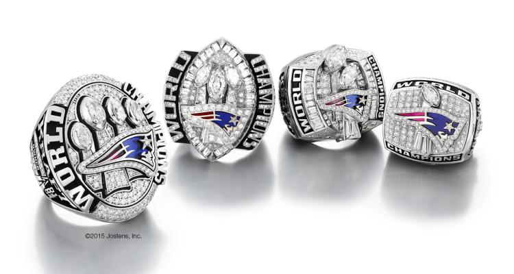 Anillo Super Bowl Pats 7
