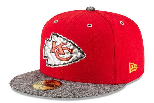 Gorra New Era Draft 2016 Chiefs