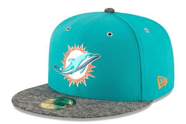 Gorra New Era Draft 2016 Dolphins