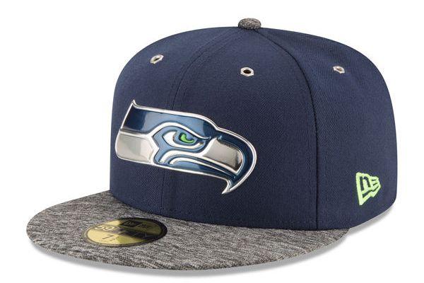 Gorra New Era Draft 2016 Seahawks