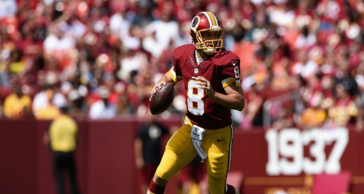 at FedExField on September 14, 2014 in Landover, Maryland.