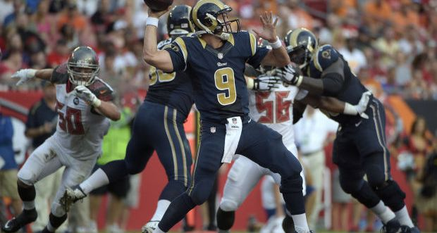 Rams vs Buccaneers semana 2