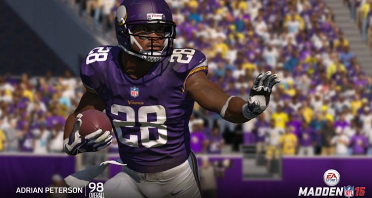 Madden NFL 15 Adrian Peterson