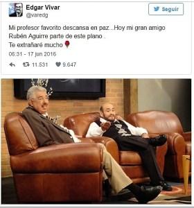 Tuit de Edgar Vivas