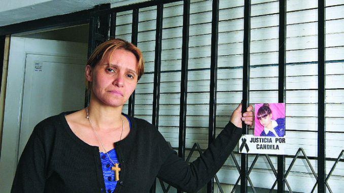 La madre de Candela negó que su hija se haya comunicado con la ...