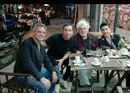 Taibo, el empleado de Venezia, Ranni y Mammon compartieron charla y café en Morón