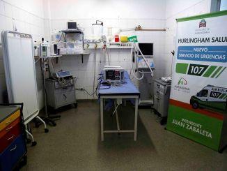Nuevo equipamiento hospitalario en Hurlingham