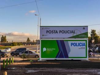Nueva posta policial en Hurlingham