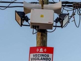 Alarmas vecinales en Hurlingham