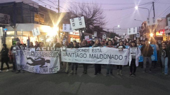 Marcha en Hurlingham por Santiago Maldonado