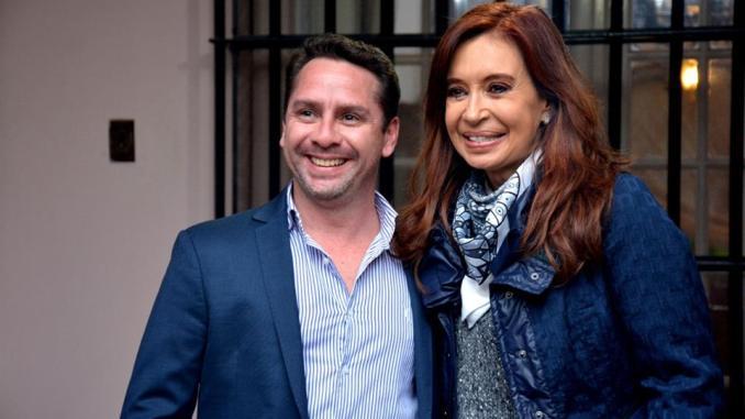 Pablo Descalzo con Cristina en Merlo