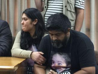 Mara Maidana y Beto Escalada, los papás de Máximo, se quebraron al escuchar el veredicto el pasado 11 de octubre