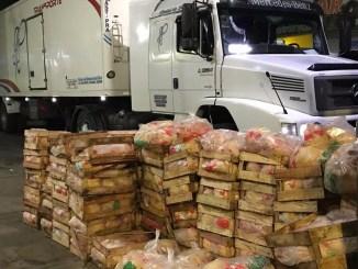 Recuperaron cargamento de pollos robados