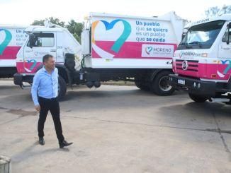 Nuevo servicio de recolección en Moreno