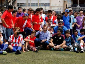 Zabaleta programa de inclusión en River Plate