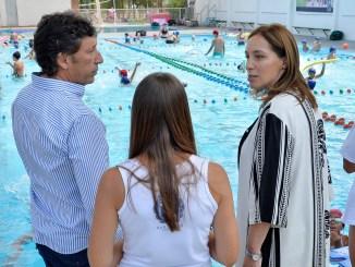 La gobernadora María Eugenia Vidal estuvo ayer en San Isidro junto al intendente Gustavo  Posse
