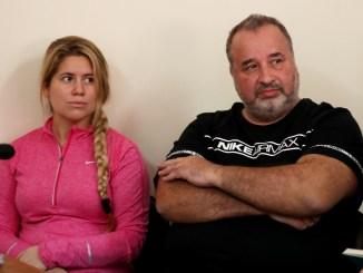 Balcedo y su esposa