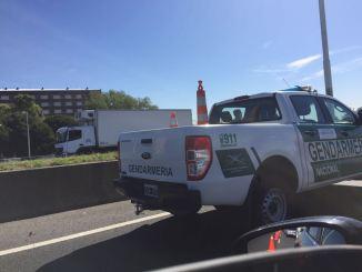 Accidente en Acceso Oeste