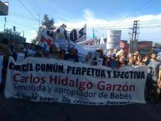 Escrache a Hidalgo Garzón