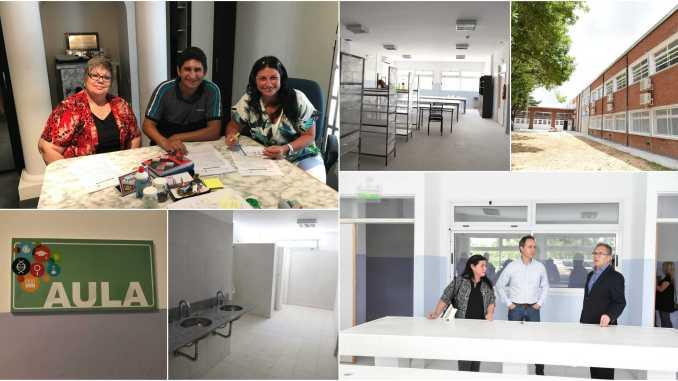 Nueva escuela en Ituzaingó
