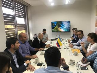 Tagliaferro, Ducoté y Molina participan de la misión de intendentes en Medellín