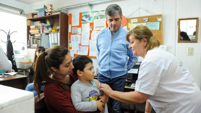 Vacunación en Hurlingham
