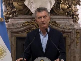 Presidente Mauricio Macri