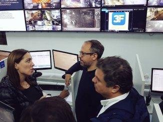 Vidal en Tres de Febrero con Valenzuela