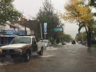 Durante la jornada del martes cayeron en Morón e Ituzaingó más de 80 milímetros de agua