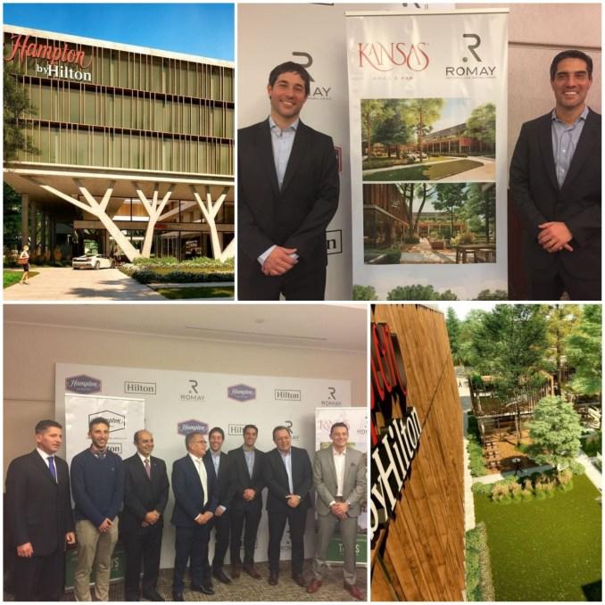 Los hermanos Gustavo y Fernando Romay como anfitriones, fueron los encargados de describir el proyecto a asistentes tales como el ministro de Turismo,Gustavvo Santos y el intendente Descalzo de Ituzaingó.