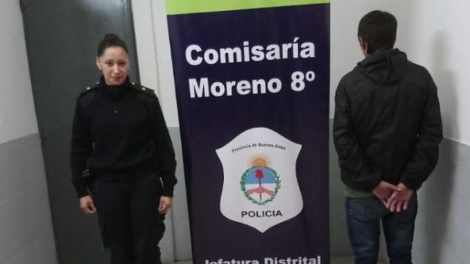 Detienen a joven acusado del incendio de la escuela de Moreno
