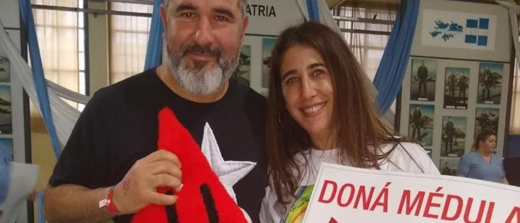 Adrián Noriega fue uno de los 100 donantes de médula ósea que respondieron a la convoatoria de Gaby, la mamá de Alejito Trani.