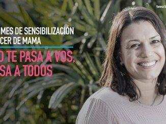 Vanesa padeció la enfermedad, pudo superarla y ahora comparte con otras mujeres su experiencia de vida