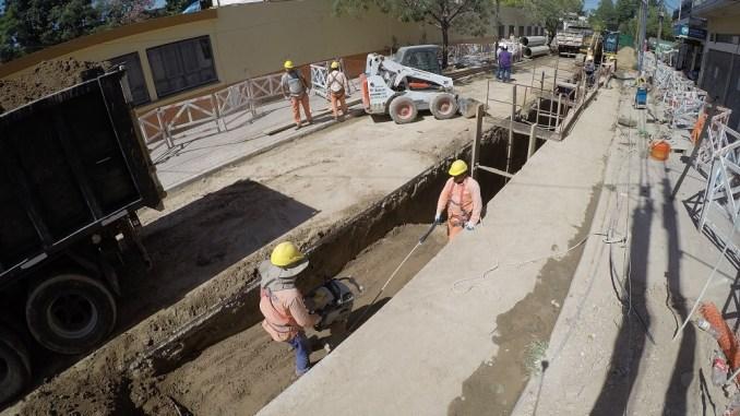 Los trabajos iniciados estarán culminados dentro de siete meses aproximadamente.